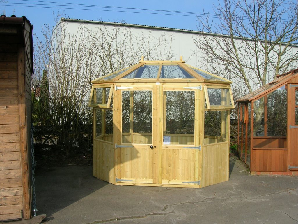 Octagonal Greenhouse